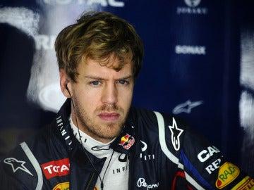 Vettel, concentrado