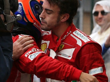 Massa consuela a Alonso