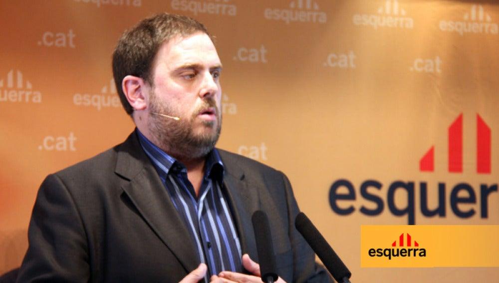 Junqueras renuncia al sobresueldo, asesores y coche del jefe de la oposición