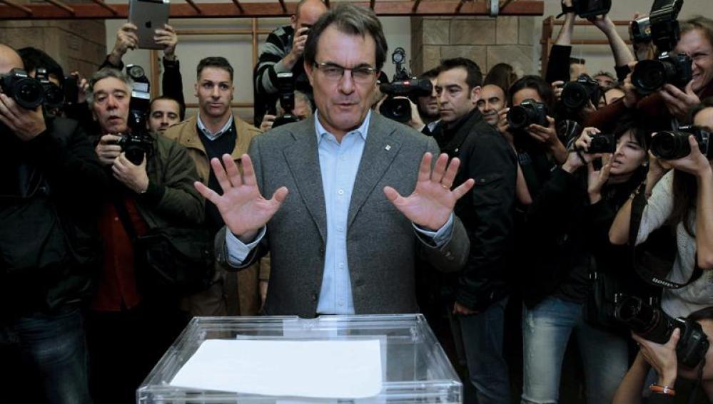 Artur Mas, líder de CiU