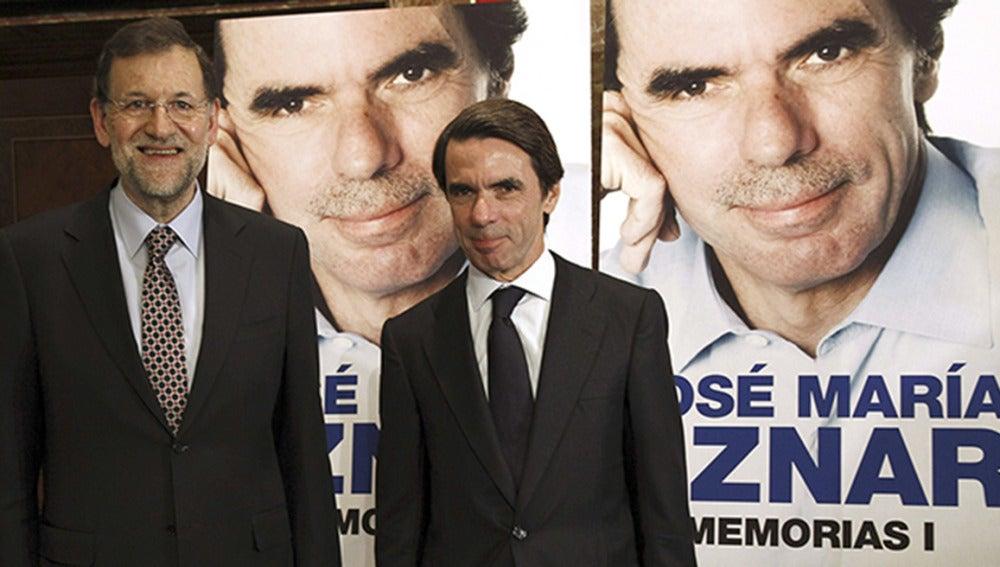 Aznar en la presentación de su libro