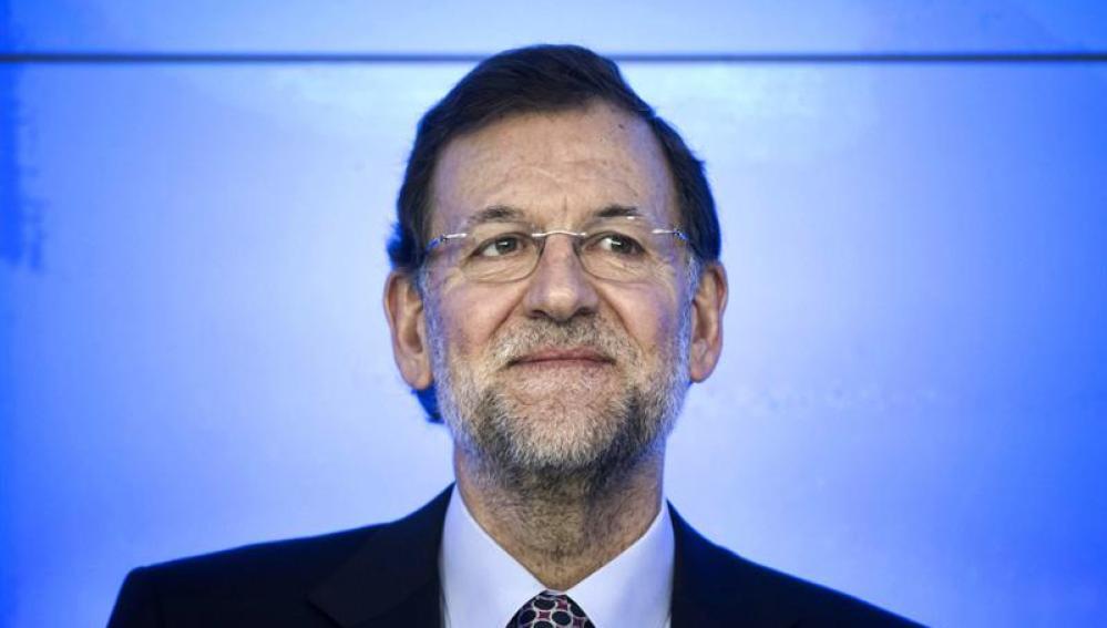 Mariano Rajoy, en el comité del PP
