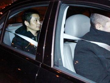 Gao Ping, a su salida de la prisión de Villena (Alicante)