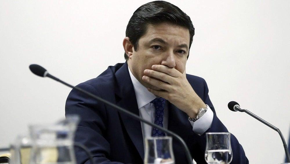 El exconsejero de Medio Ambiente de la Comunidad de Madrid Pedro Calvo