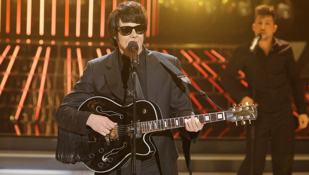 Daniel Diges es Roy Orbison