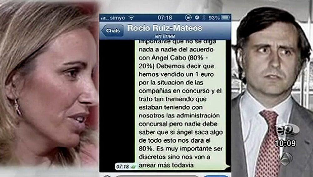 La conversación entre Rocío y Pablo Ruíz Mateos