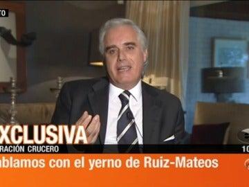 El yerno de Ruiz Mateos, en Espejo Público