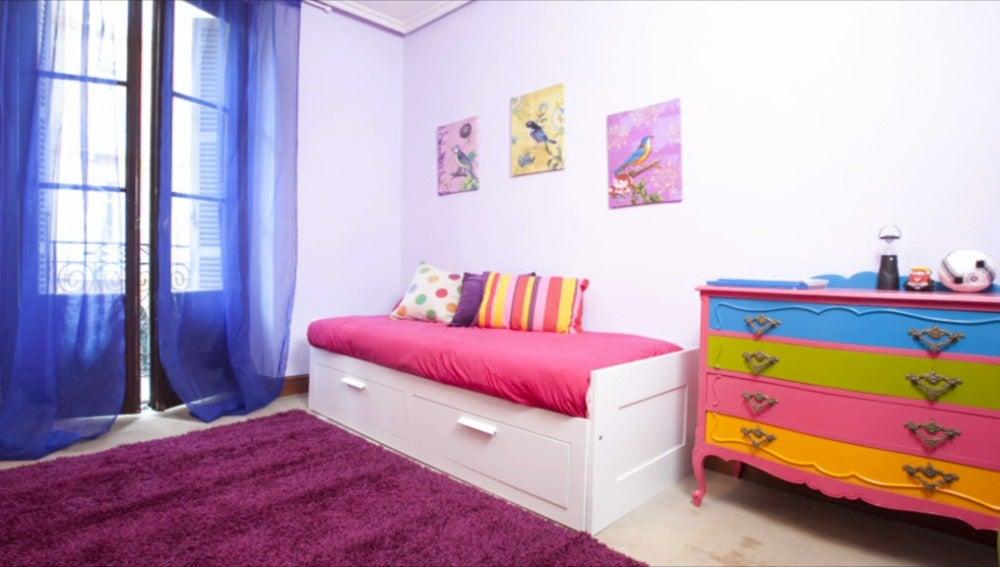 Un nuevo cuarto para los nietos de Isidro