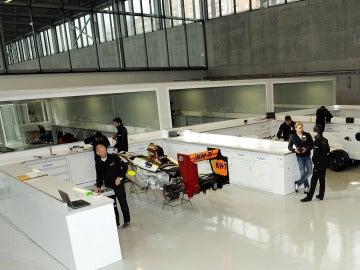 La sede de HRT en Madrid