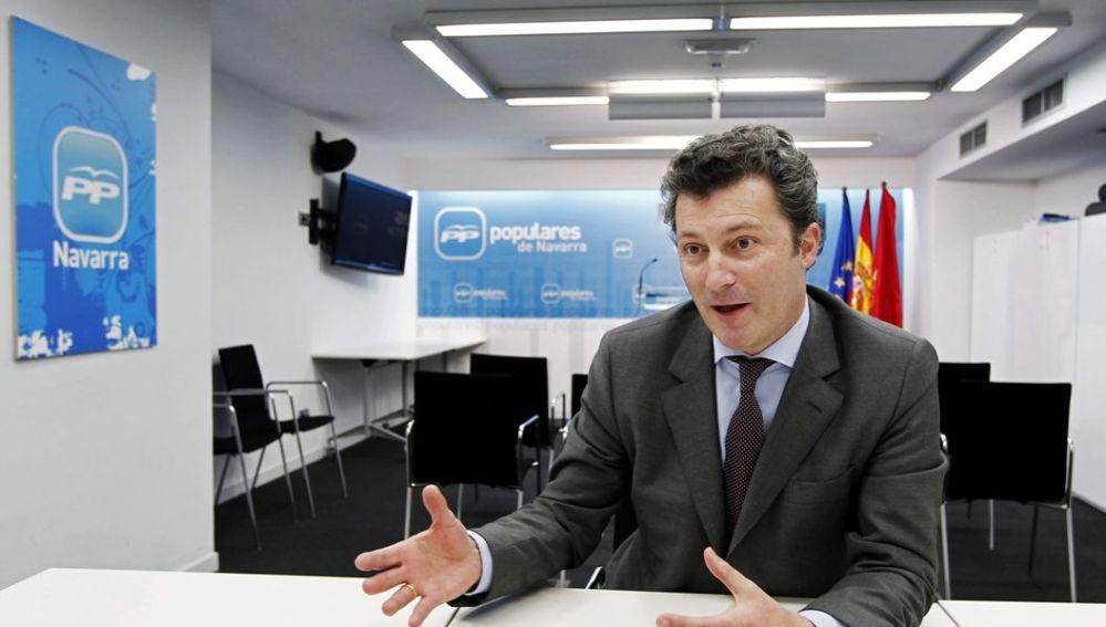 El diputado popular Santiago Cervera en una imagen de archivo