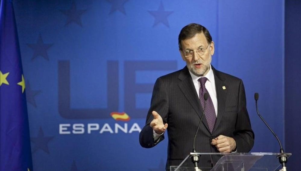 Mariano Rajoy en la UE
