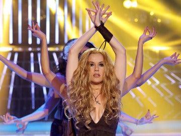 Rocko imita a Shakira