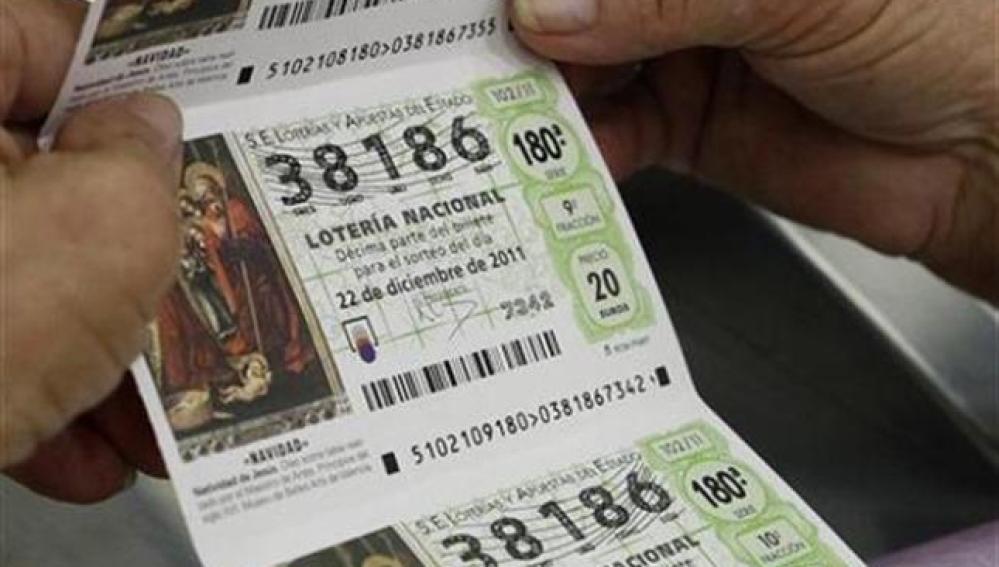 Comprobar décimos de Lotería de Navidad 2019