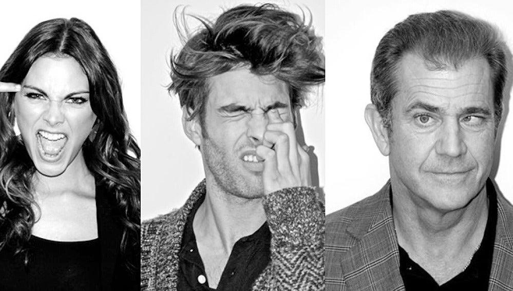 Mel Gibson, Amaia Salamanca y Jon Kortajarena