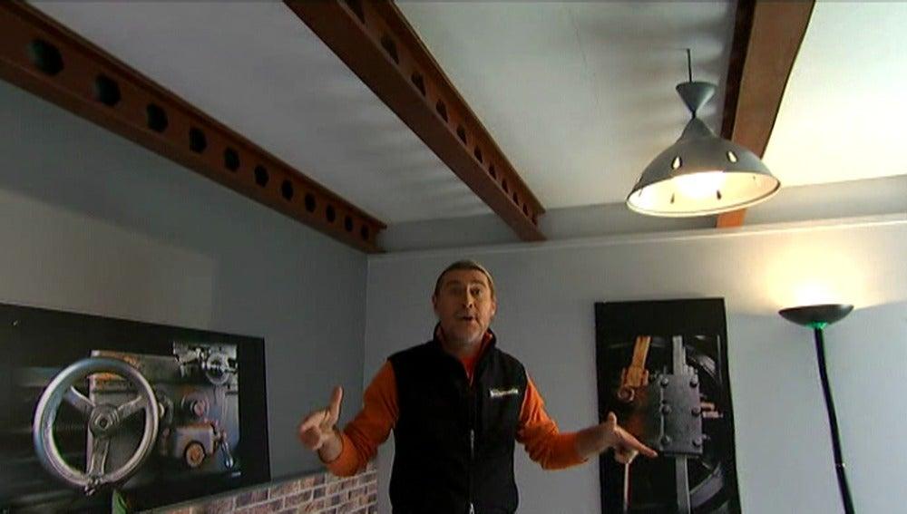 ANTENA 3 TV Construimos unas vigas para el techo