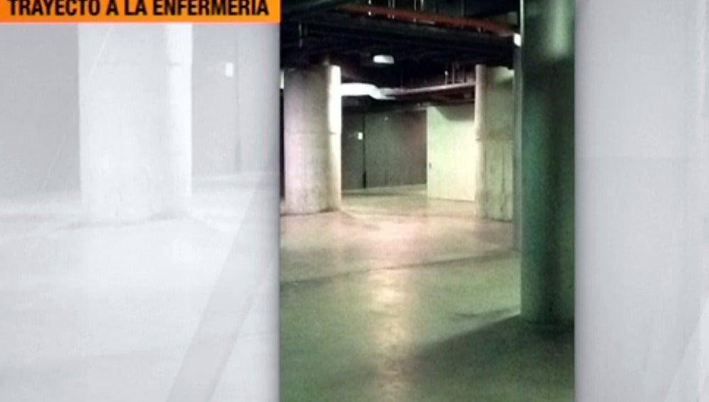 Un recorrido lleno de obstáculos hasta la enfermería del Madrid Arena