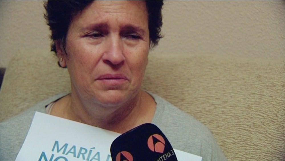 Toñi, madre de María Piedad