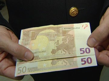 Billetes falsos
