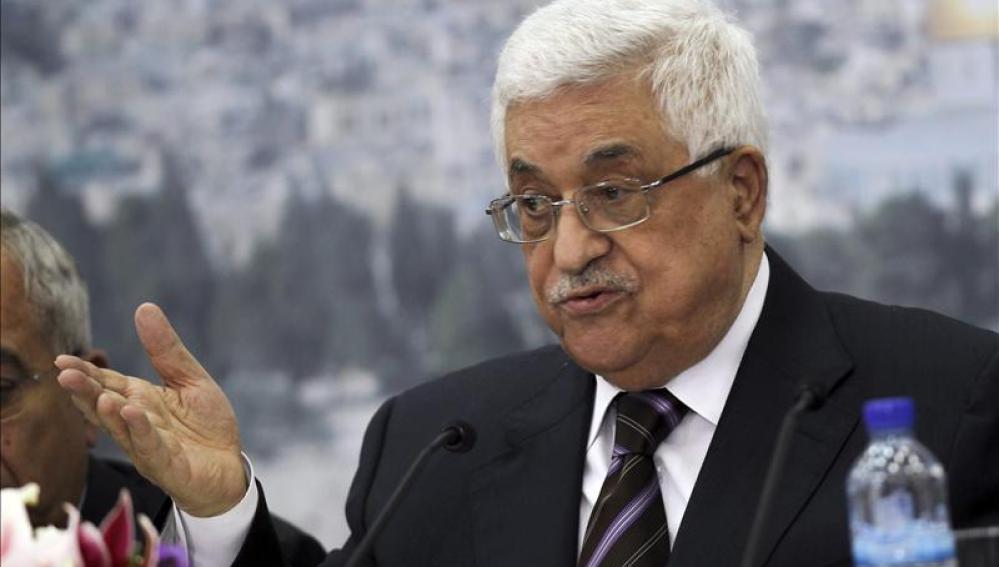 El presidente de la Autoridad Nacional Palestina