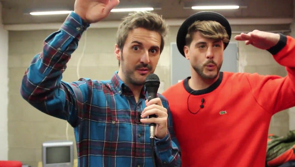 Julián López y Luis Fernández en Ahora caigo