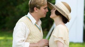 Matthew y Lady Mary Crawley