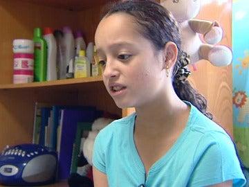 Sherley, la niña que ha cantado El Gordo