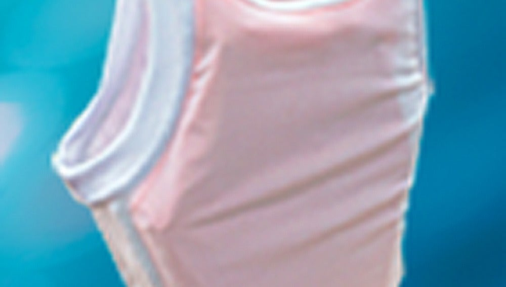 Una camiseta interior infantil con chaleco incorporado