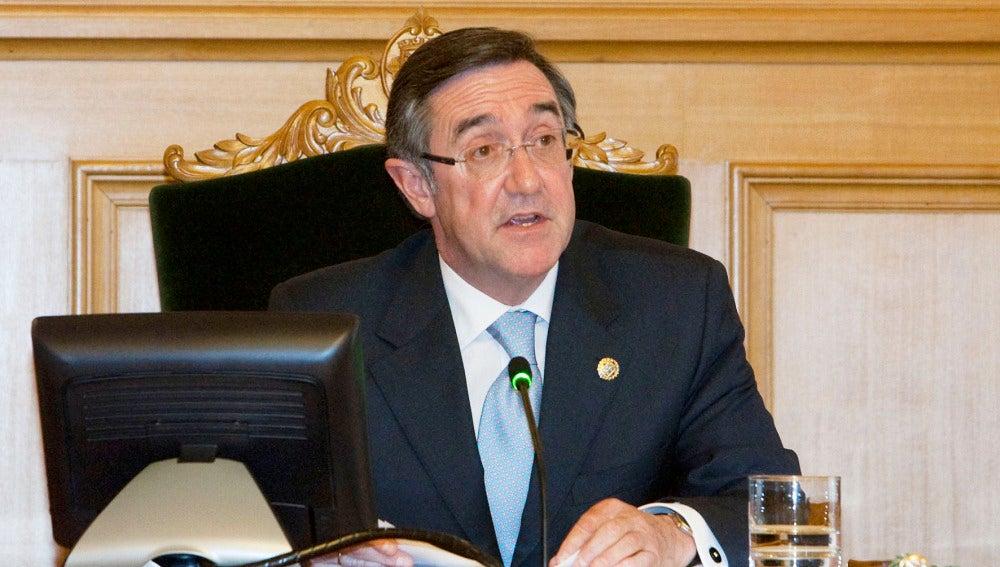 Ángel Currás, alcalde de Santiago de Compostela