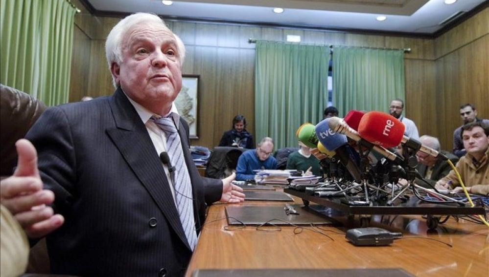 El ex presidente de la Diputación de Orense, Baltar Pumar.