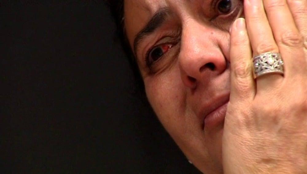 María del Monte llora al imitar a Chavela Vargas