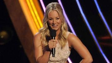 La protagonista de Big Bang Theroy en los People's Choice Awards