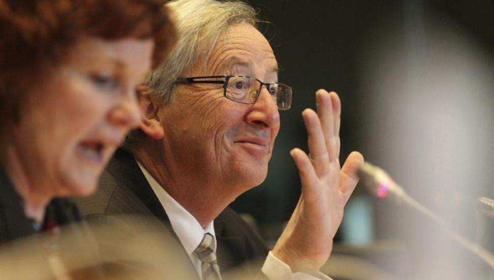 El expresidente del Eurogrupo, Jean-Claude Juncker
