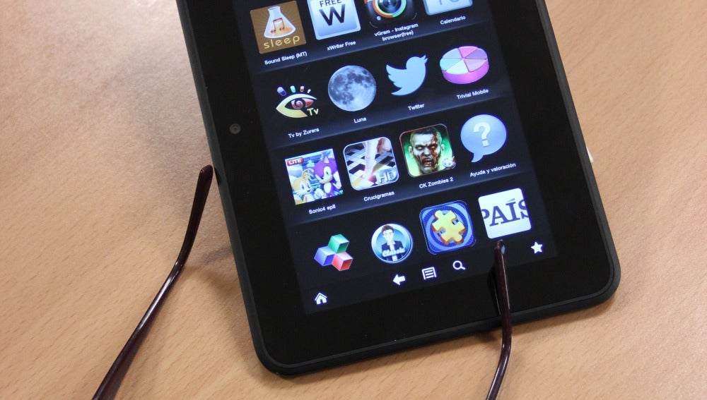 Kindle Fire HD de 7 pulgadas, lo nuevo de Amazon