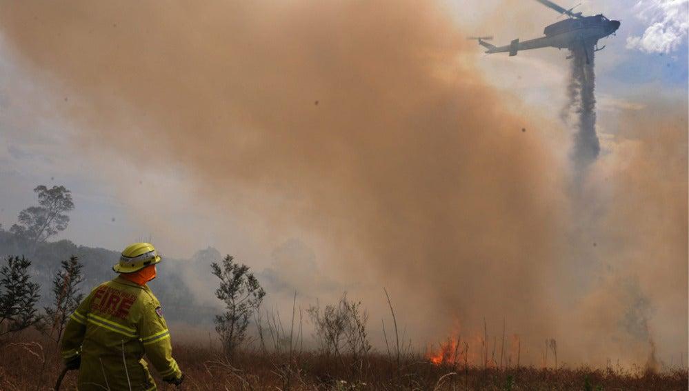 Ola de incendios en Australia