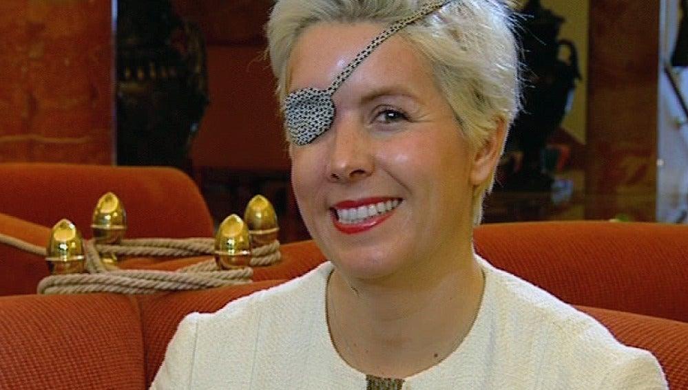 La piloto Maria de Villota, en una entrevista exclusiva con Antena 3