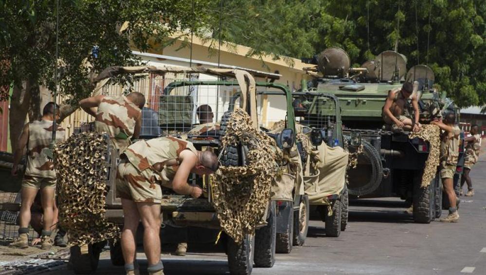 Operación en Malí