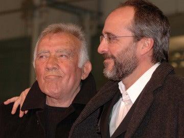 Fernando Guillén, con su hijo y también actor Fernando Guillén Cuervo