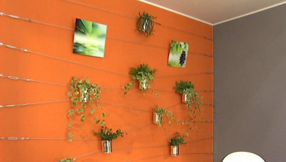 Cableado para decorar las paredes