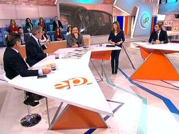 Miguel Ángel Rodríguez e Iñaki Oyarzábal en 'Espejo Público'