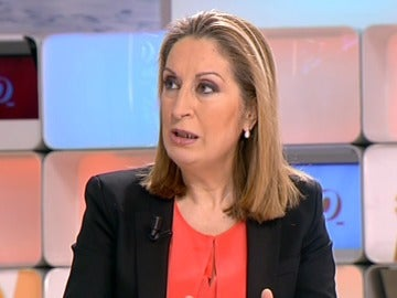 La ministra de fomento Ana Pastor