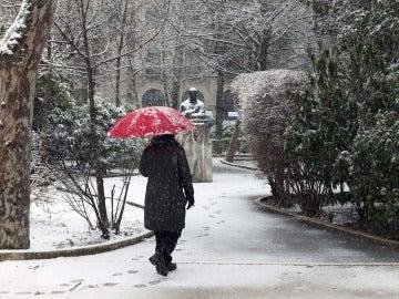 Copiosa nevada registrada en Cuenca