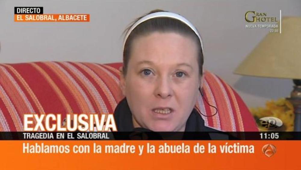 Madre de la víctima del Salobral