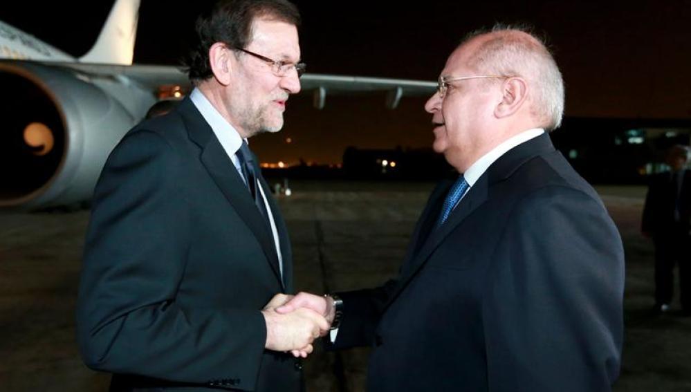Mariano Rajoy llega a Lima