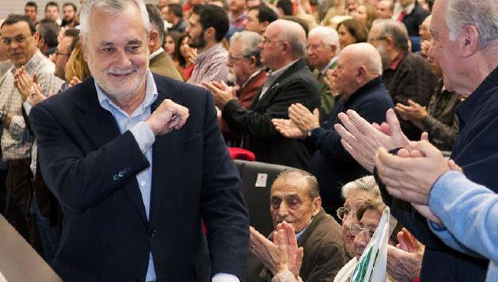 """Griñán pide un """"gran pacto por el empleo"""""""