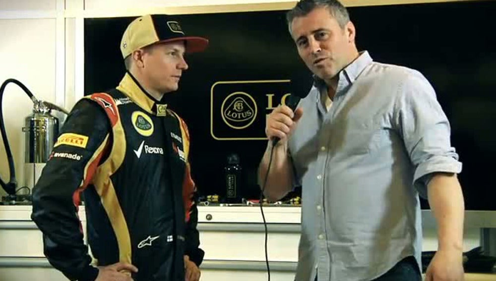 Raikkonen anuncia el E21 con sentido del humor
