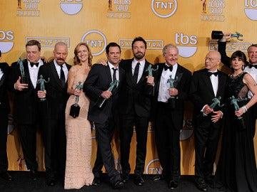 El reparto de 'Argo' gana el premio al mejor reparto