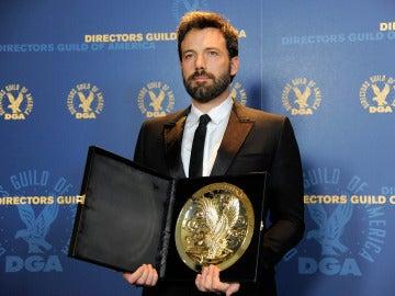 Ben Affleck recibe el premio del Sindicato de Directores