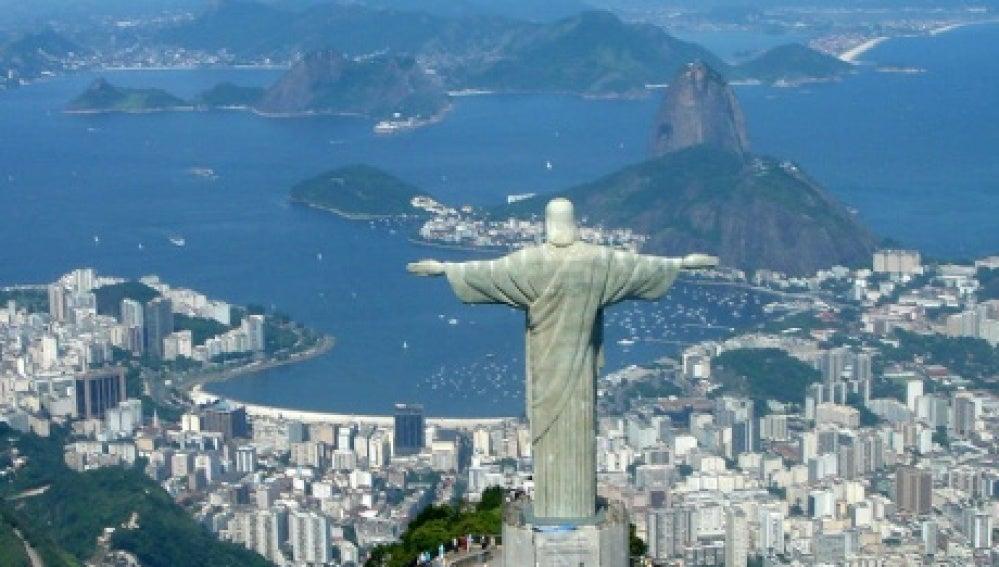 Imagen del Cristo Redentor, Río de Janeiro