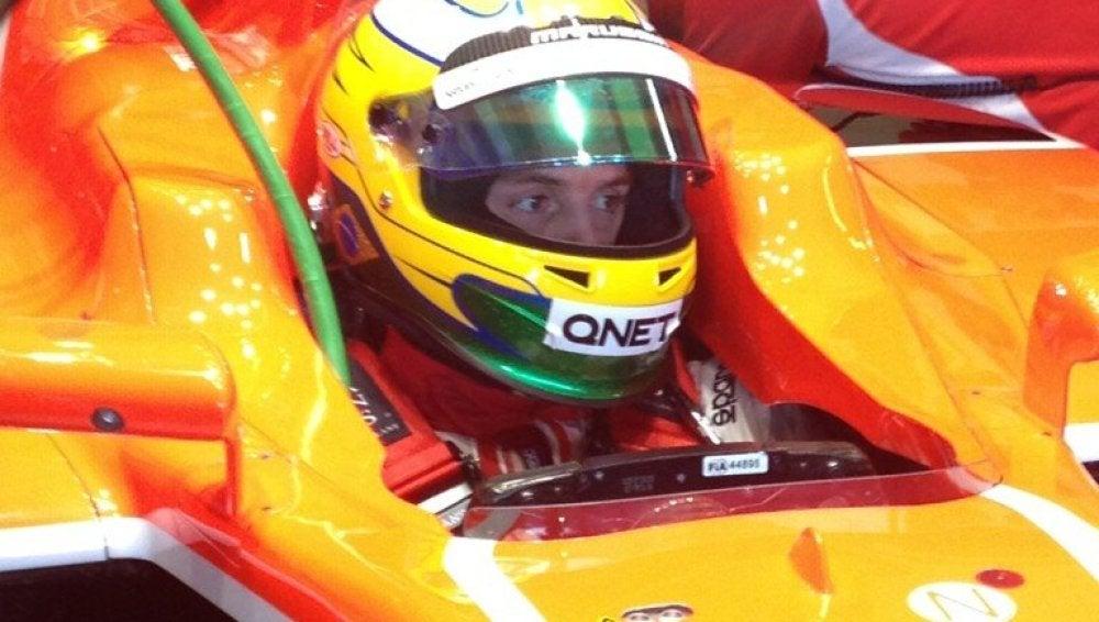 Marussia confirma a Luiz Razia como piloto titular en 2013