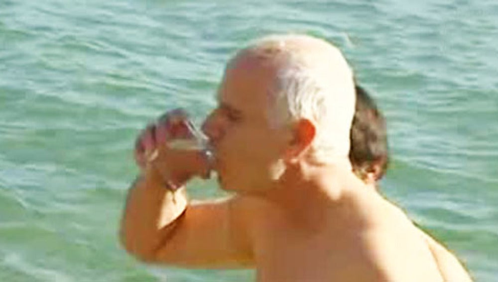 Beber agua del mar
